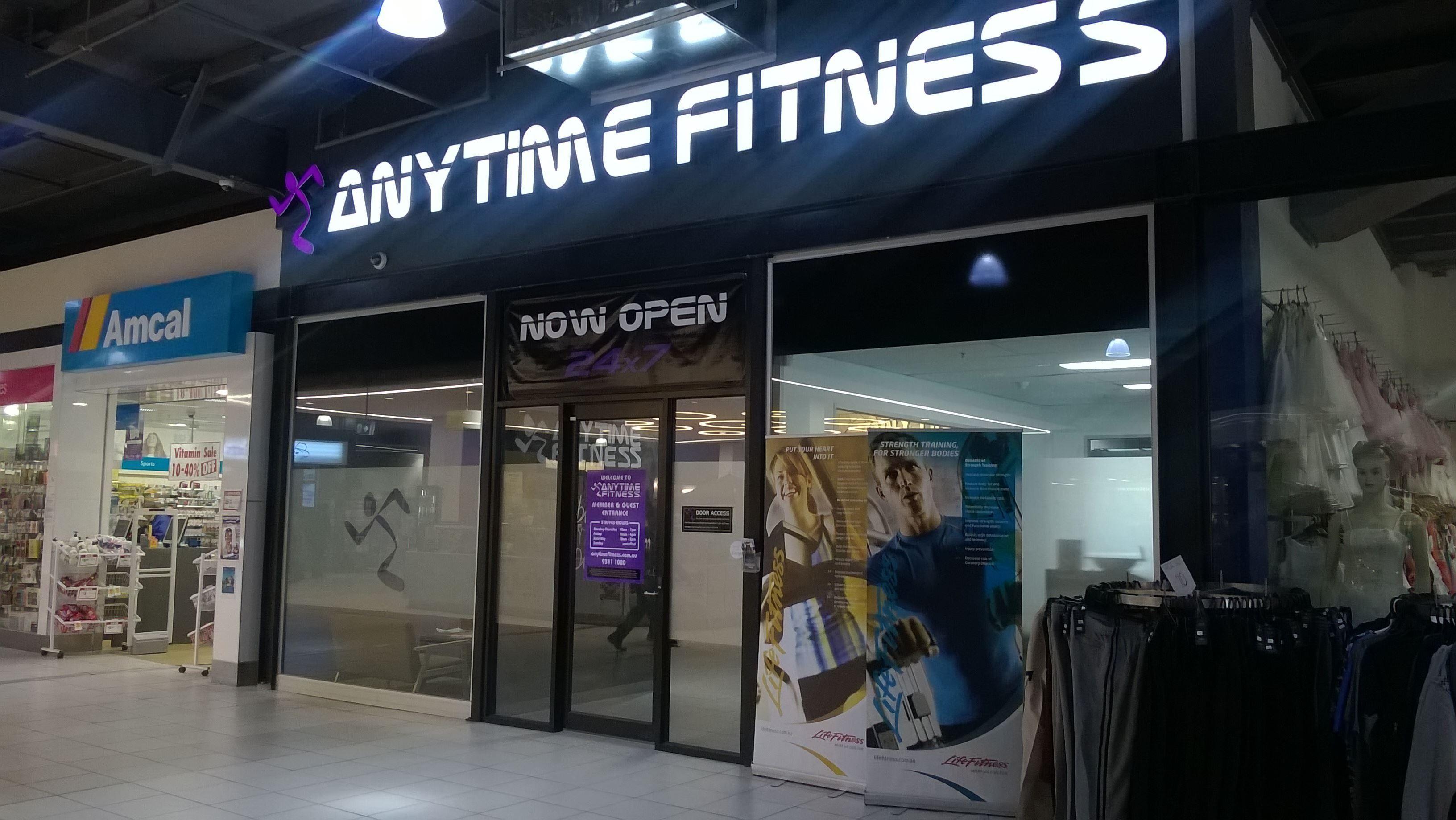 Anytime Fitness Sunshine 24 Hour Gym