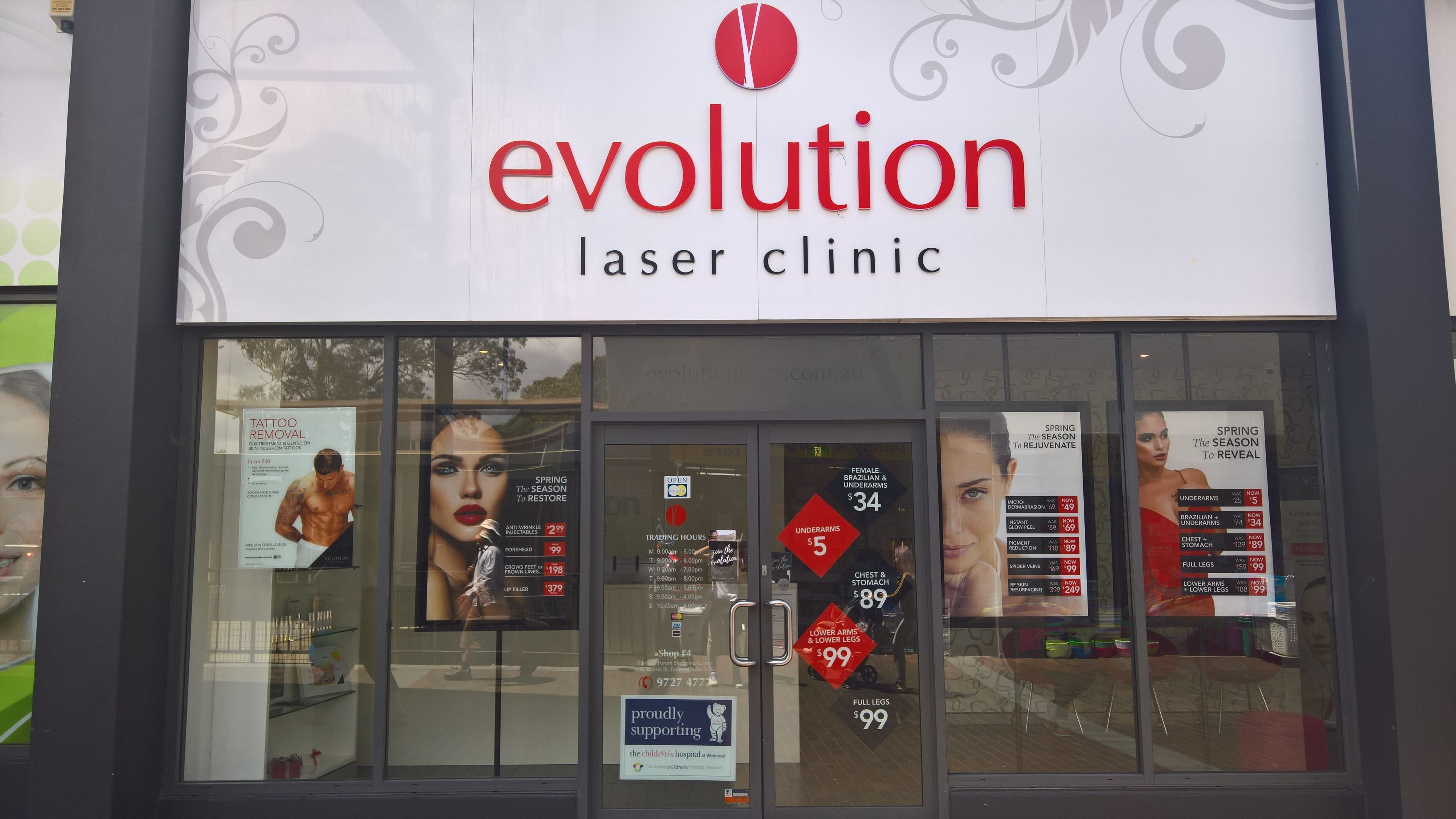 Evolution Laser Clinic Fairfield | Laser Hair Removal | Beauty