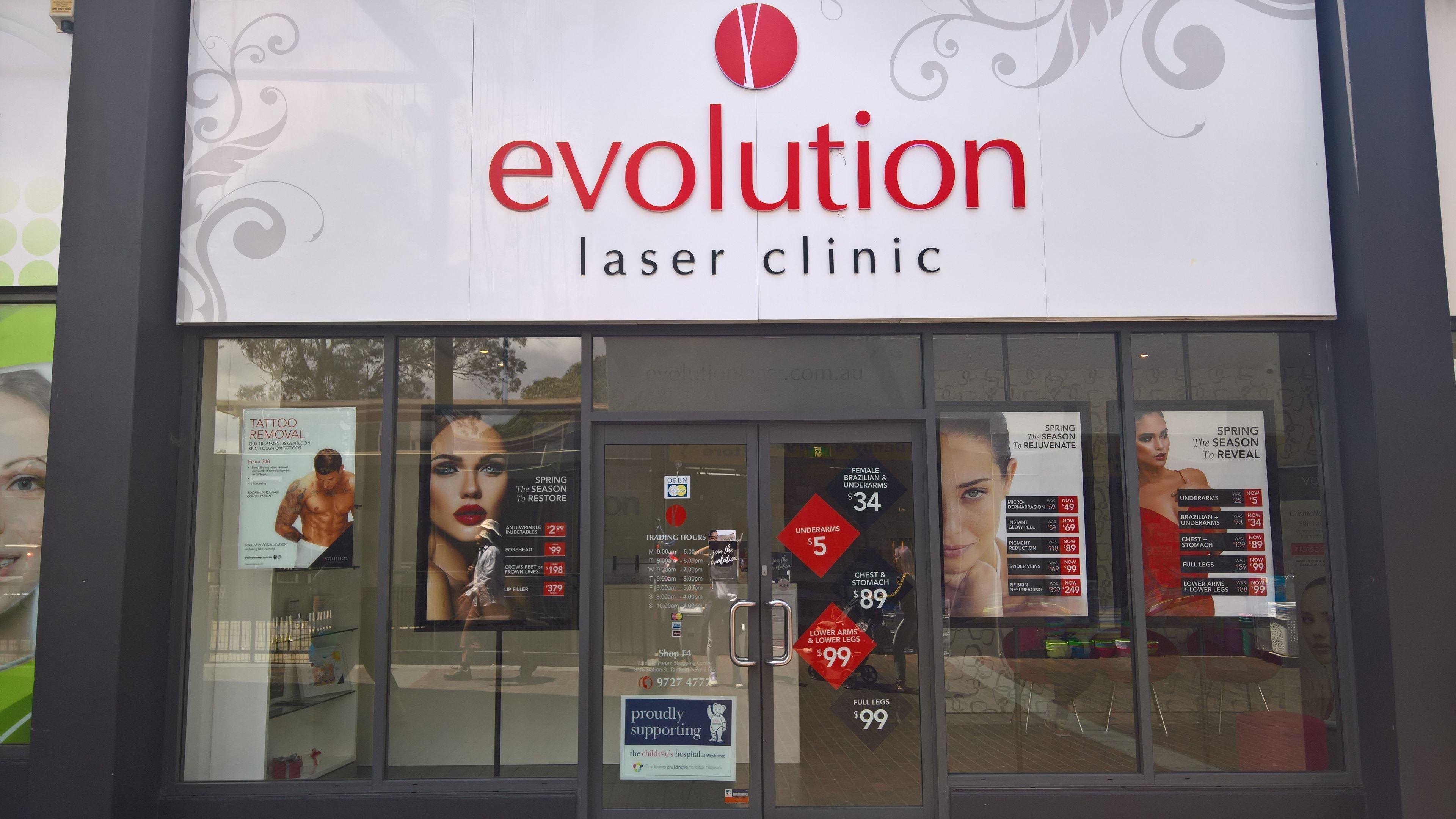 Evolution Laser Clinic Fairfield | Laser Hair Removal | Beauty