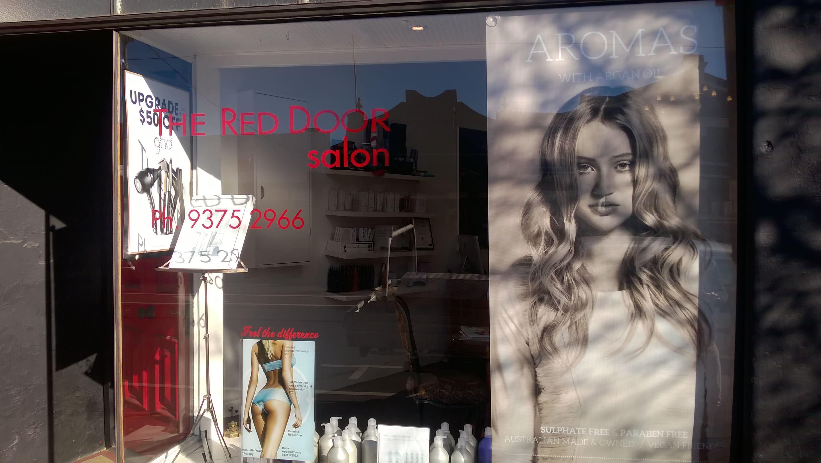 The Red Door Salon Hair Styling Hairdresser