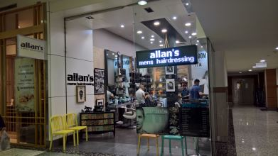 Allan's Men's Hairdressing Westfield Hornsby