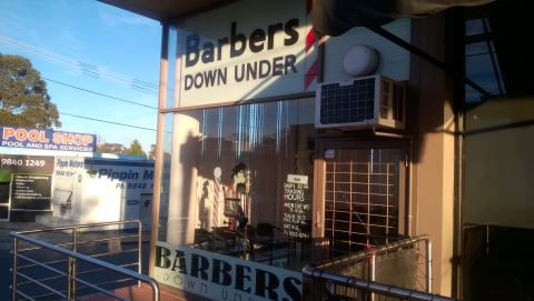 Barbers Down Under