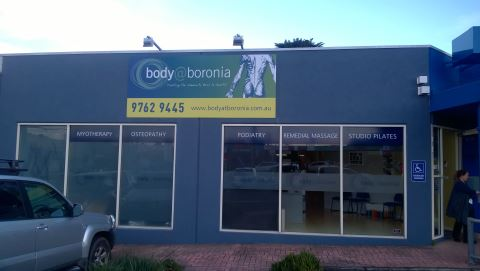 Body at Boronia