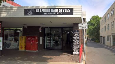 Glamour Hair Styles