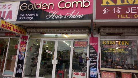Golden Comb