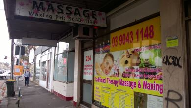 Massage on Johnston Street