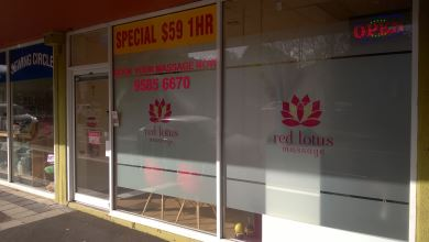 Red Lotus Massage Cheltenham
