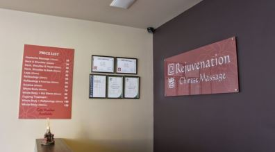 Rejuvenation Chinese Massage Preston