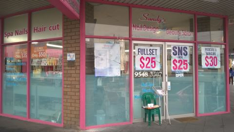 Sandy's Nail Design and Beauty Salon