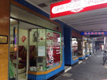Spa Rose Nails