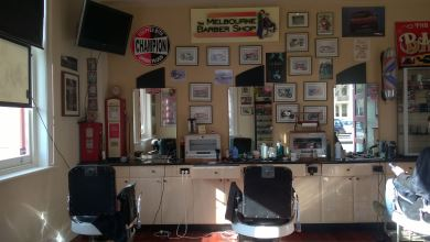 The Melbourne Barber Shop