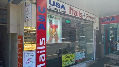 USA Nails and Footspa Gordon